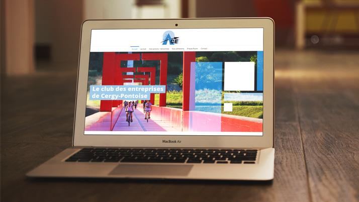 Le site web vitrine du Club ACE