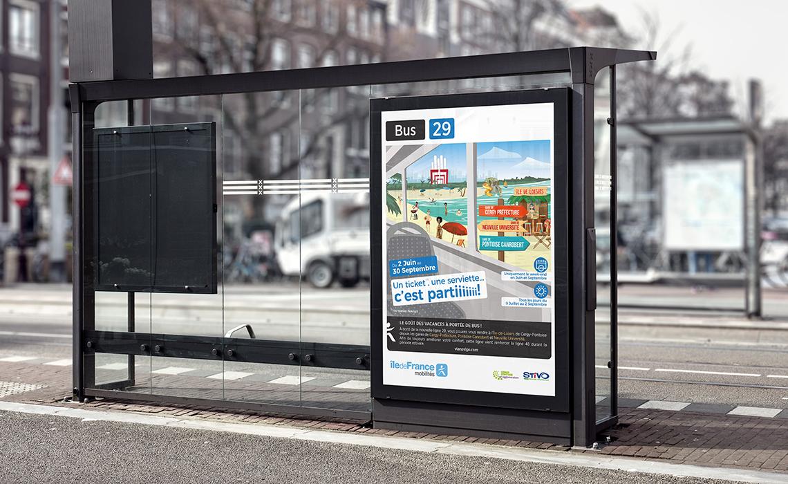 Affichage campagne estivale 2018 STIVO