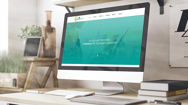Site web vitrine Novundi