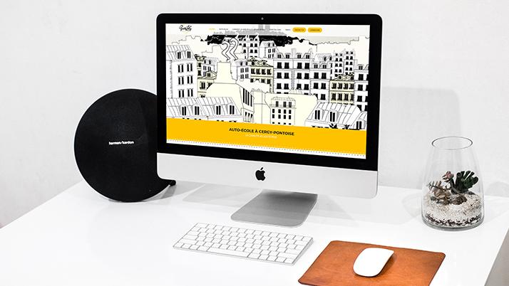 Le site web vitrine Permilike