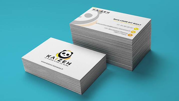 Création de cartes de visite Kaizen