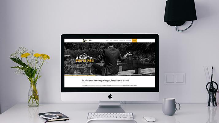 Le site web one page Kaizen