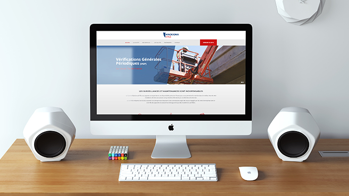 Le site web vitrine Mackiona & Fils