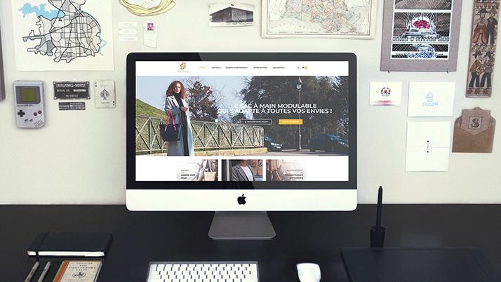 Le site web e-commerce Menestia