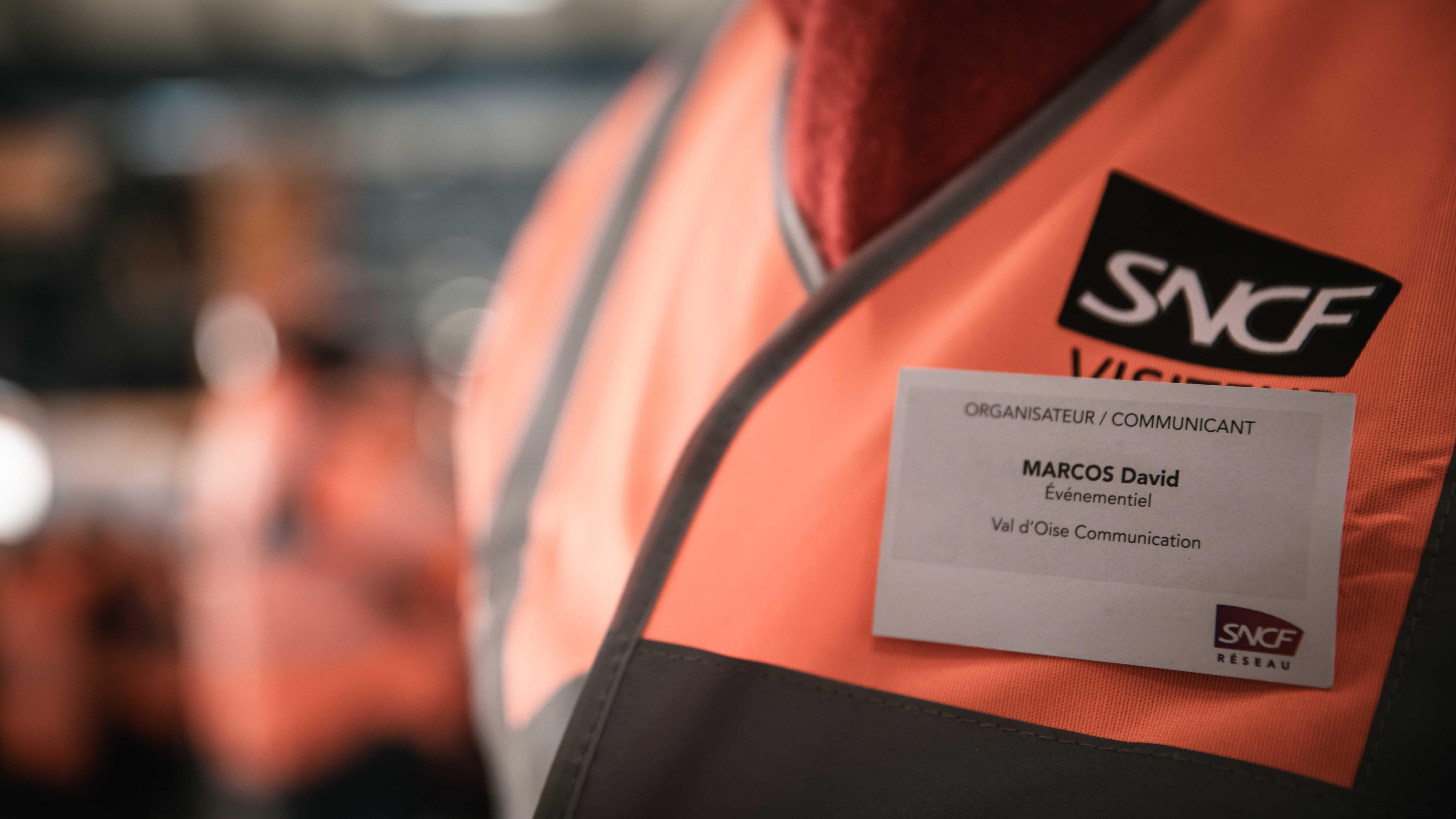 Création de badges individuels pour l'événement de la SNCF Réseau