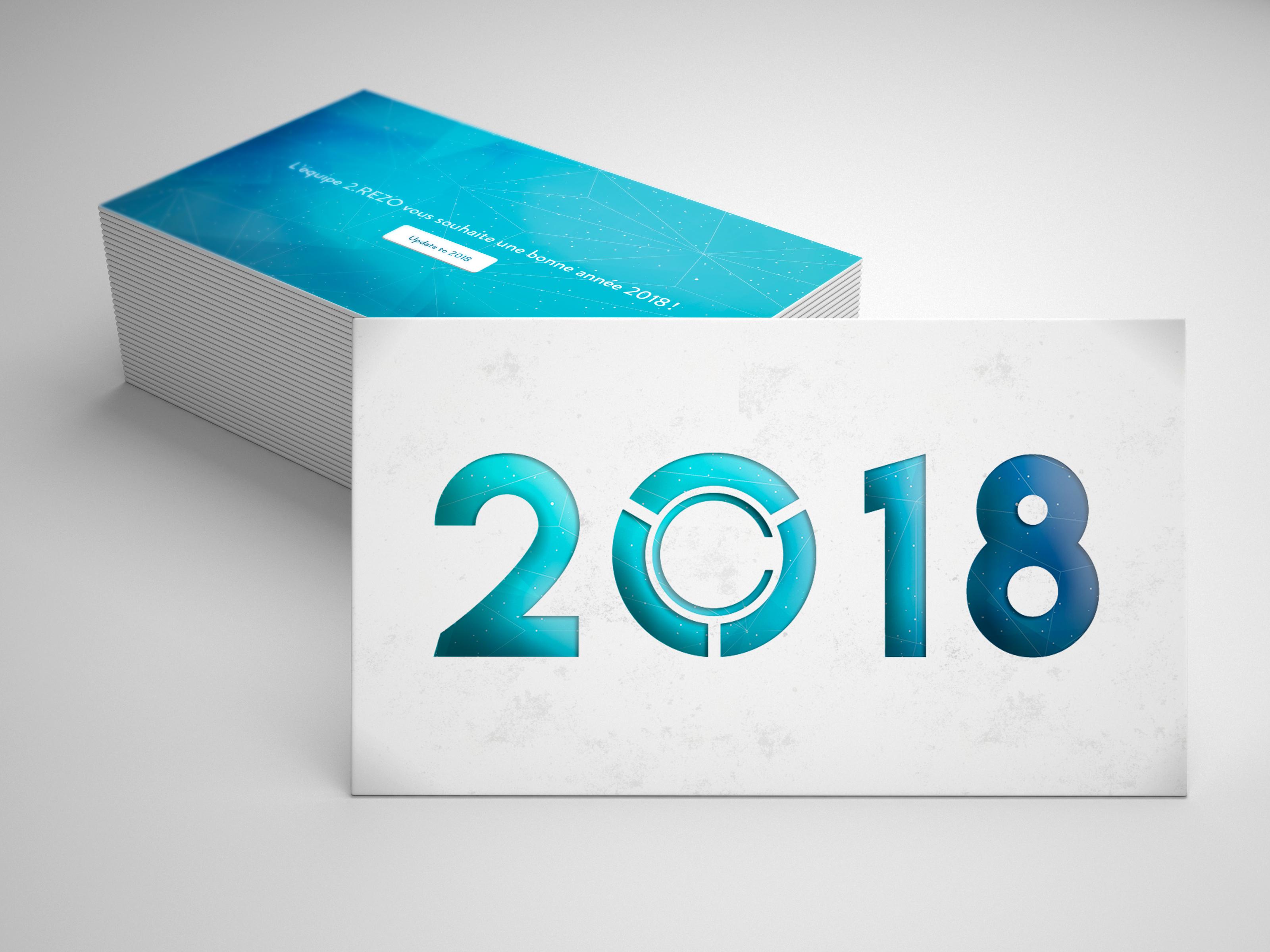 Carte de vœux 2.REZO de 2018