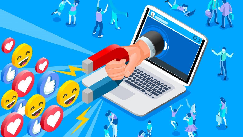 Concept représentant une gestion des réseaux sociaux efficace