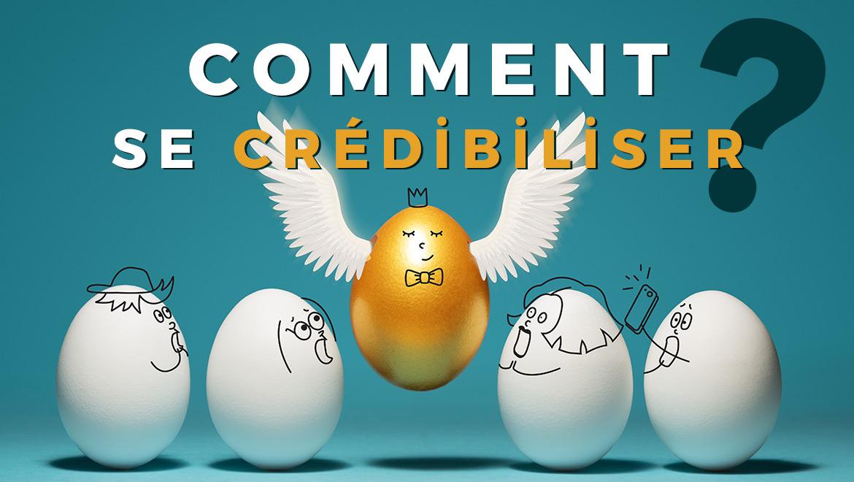 Concept comment crédibiliser son entreprise ? Un œuf couleur or avec des ailes se démarque des autres