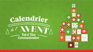 Calendrier de l'Avent Val d'Oise Communication 2019