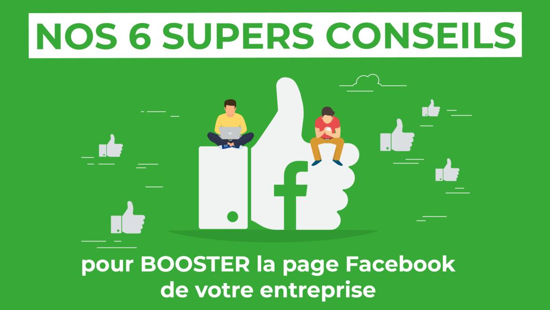 6 conseils pour booster la page Facebook de votre entreprise - Val d'Oise Communication