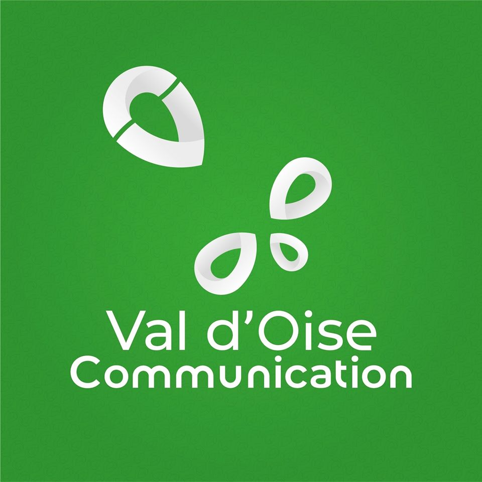 Logo revisité de Val d'Oise Communication.