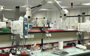Le laboratoire de petrochimie clarins pontoise
