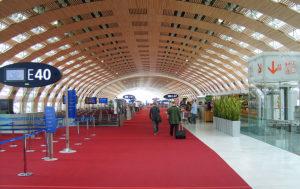 charles de gaulle aéroport terminal 2 roissy