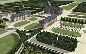 Château de Caramans à Roissy-en-France