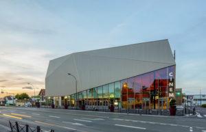 Design d'achitecte du Cinéma Megarama à Montigny-les-Cormeilles