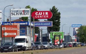 Des dizaines de magasins à La Patte-d'Oise d'Herblay