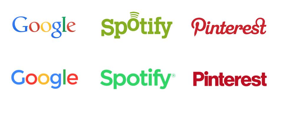 Google, Spotify et Pinterest, branding ou blanding ? - Val d'Oise Communication