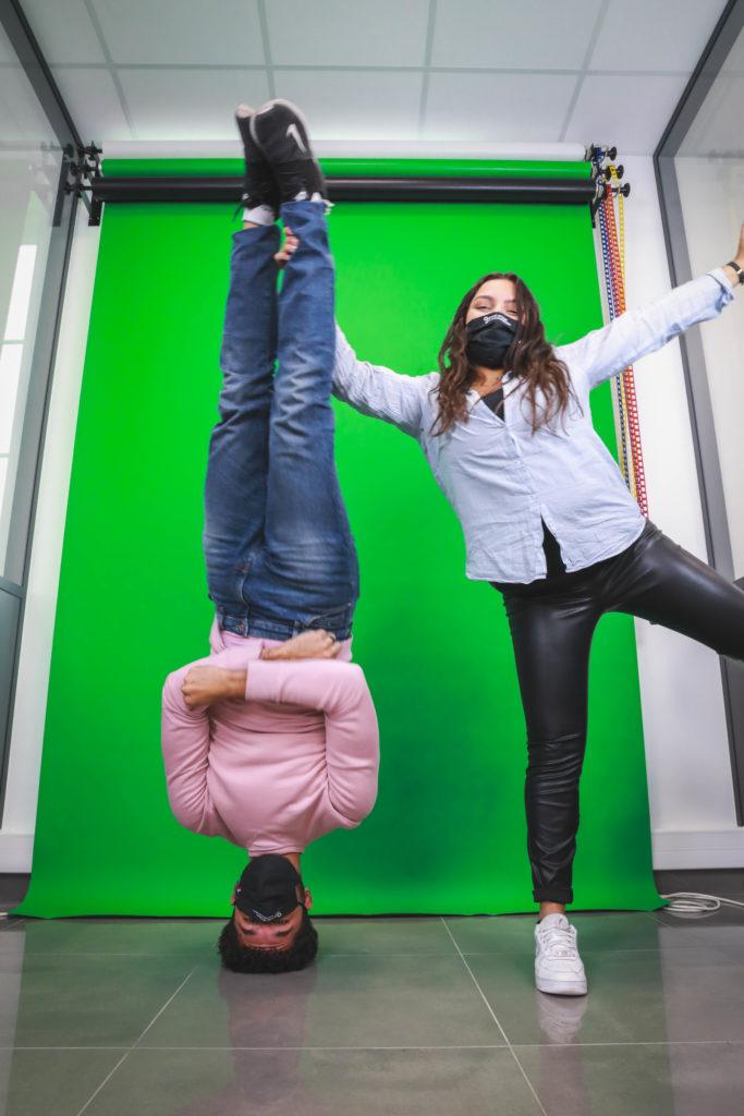 Yasmine et Karim, nos alternants chez VOC ! - Val d'Oise Communication