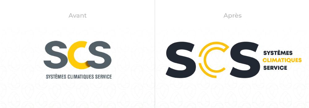 SCS a vu ses logos modifiés