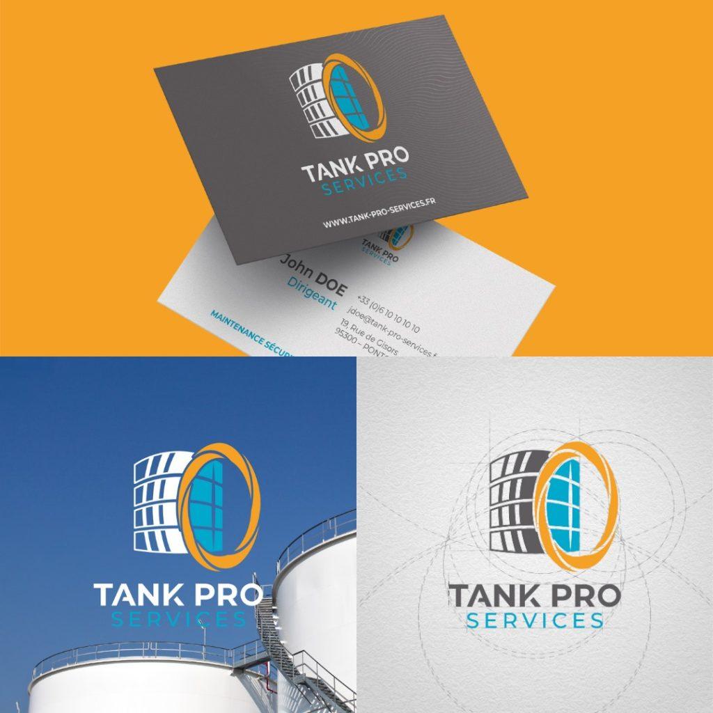 La carte de visite pour Tank Pro Services