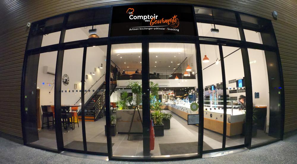 une boulangerie locale, celle du Comptoir des Gourmets - Val d'Oise Communication