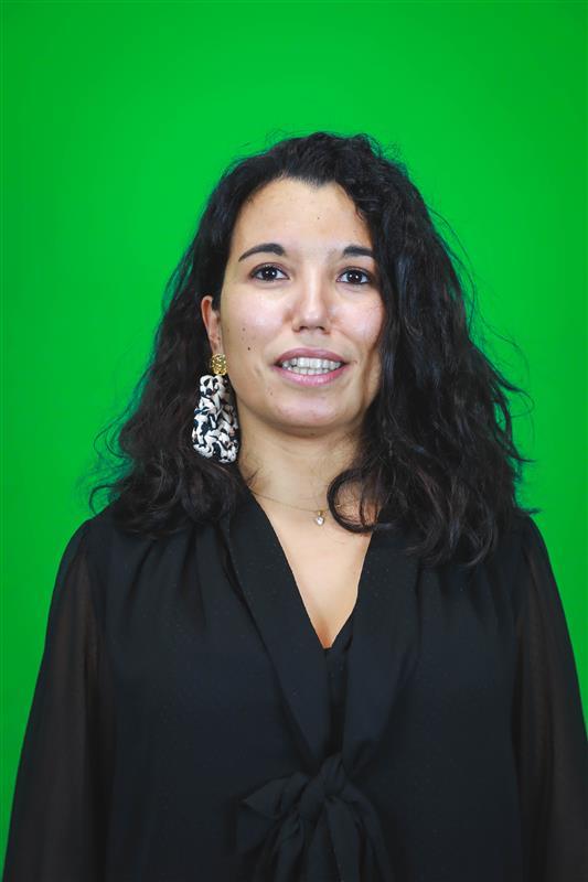 Aurore Bonavia dans les locaux de VOC - Val d'Oise Communication