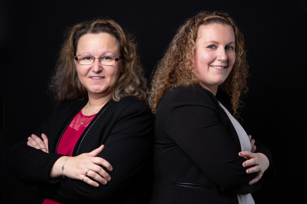 Céline Jorel et son associée ont créé le cabinet ATWO - Val d'Oise Communication